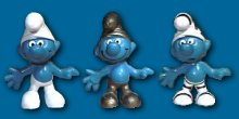 1st smurfs produced