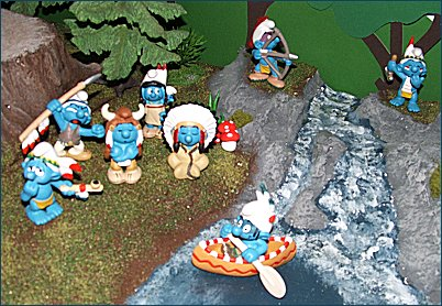 2007 Smurfs - Native Indian Theme