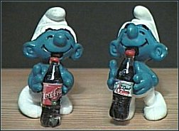Coke Cola Smurfs - Regular & Diet